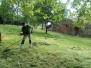Areál - shrabání posečené trávy 25.6.2020